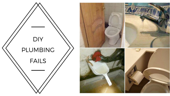 Four most common DIY plumbing fails