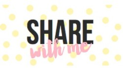 Share With Me Featured Photo