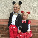 Halloween 2015 Mickey & Minnie Mouse