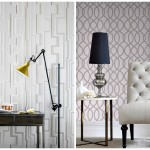 Graham & Brown Flock Wallpaper Industrial style home decor