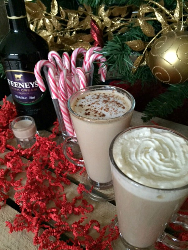 Festive drinks for Christmas and 31Dover giveaway Irish Cream Christmas spiced vodka