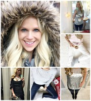 what I wore this week faux fur coat #littleloves