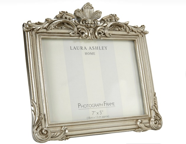 WIN a 7X5 Laura Ashley gold photo frame
