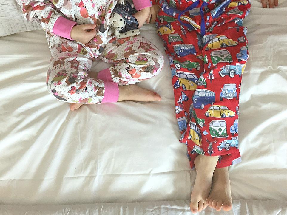 Monsoon UK nightwear pyjamas Siblings January 2016 a monthly family photo project