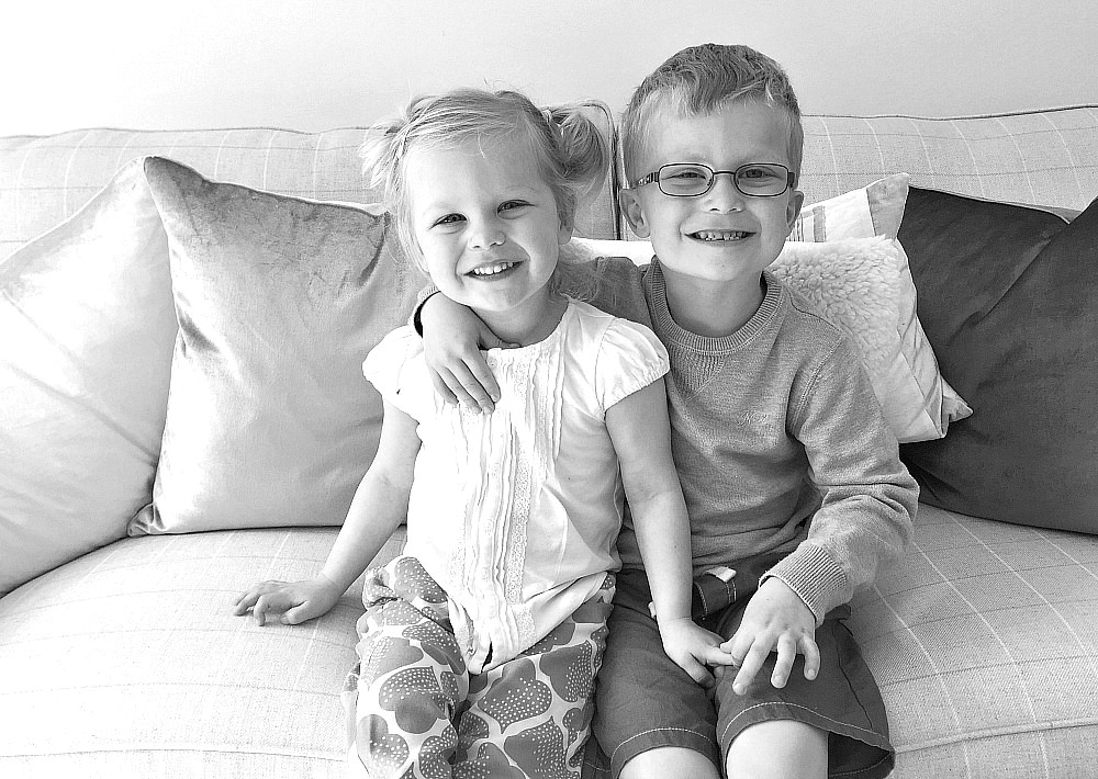 Siblings April 2016 family photo project