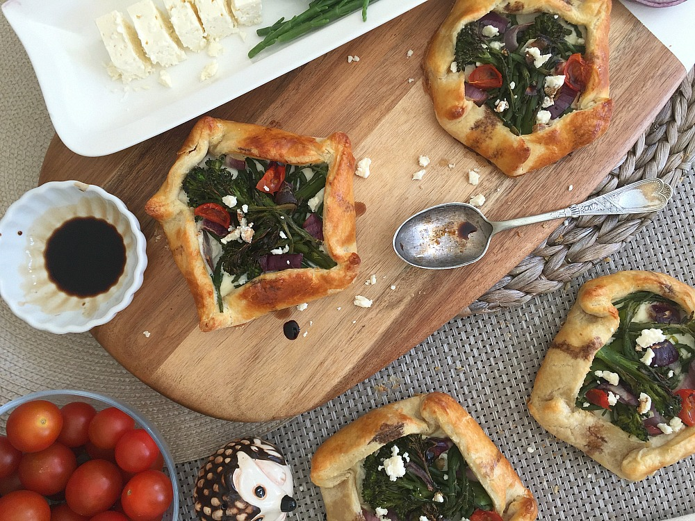 Samphire Broccoli Galettes ~ Recipe
