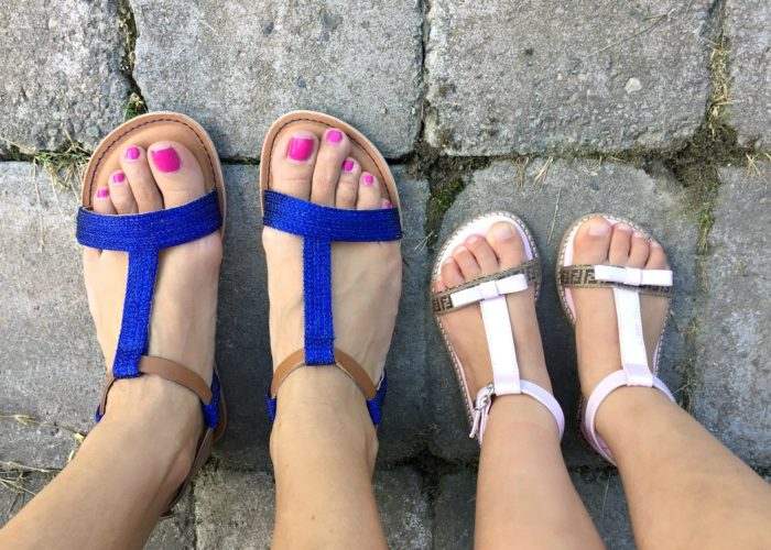 T-bar Summer Sandals: Fashion