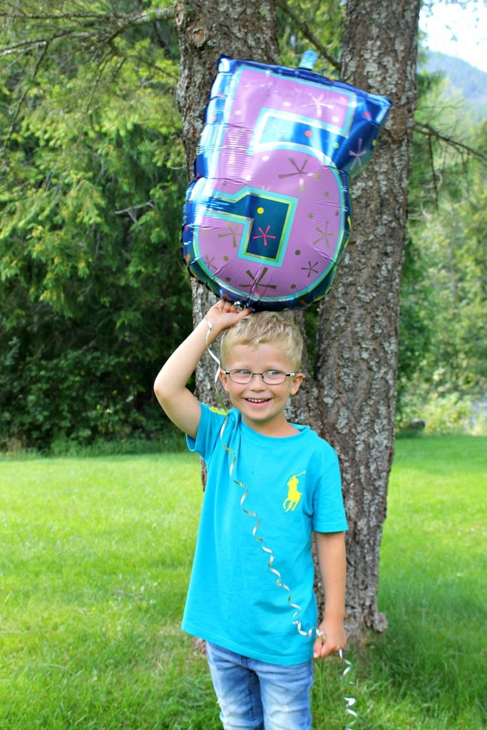 My first born turns five years old birthday celebrations
