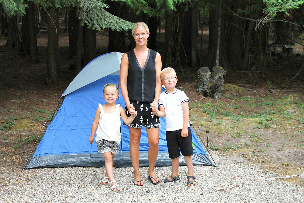 Our first camping trip in America