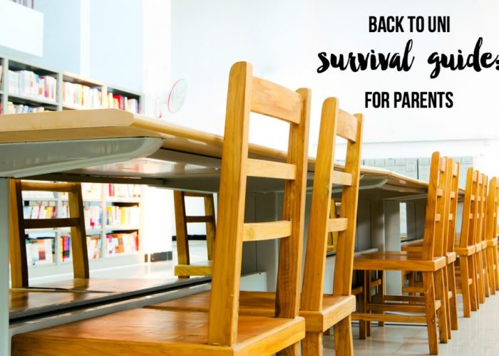 Back to Uni Survival Guide: For Parents