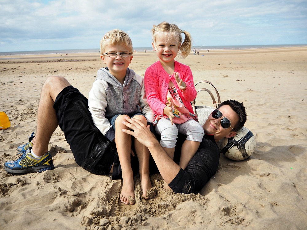 formby beach How to have a great unplanned family day out