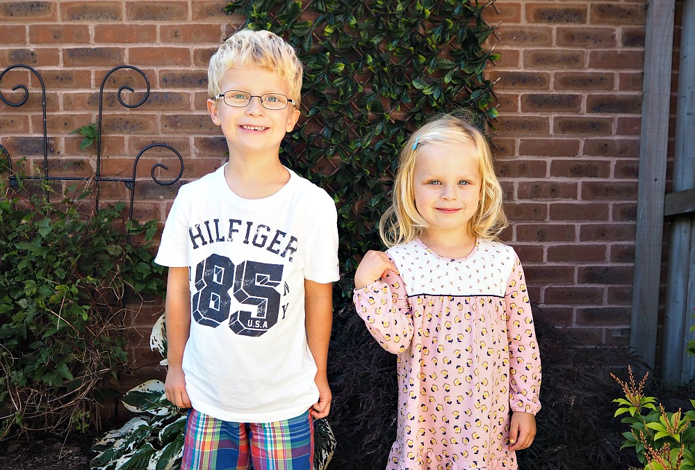 Siblings September 2016 a monthly portrait project