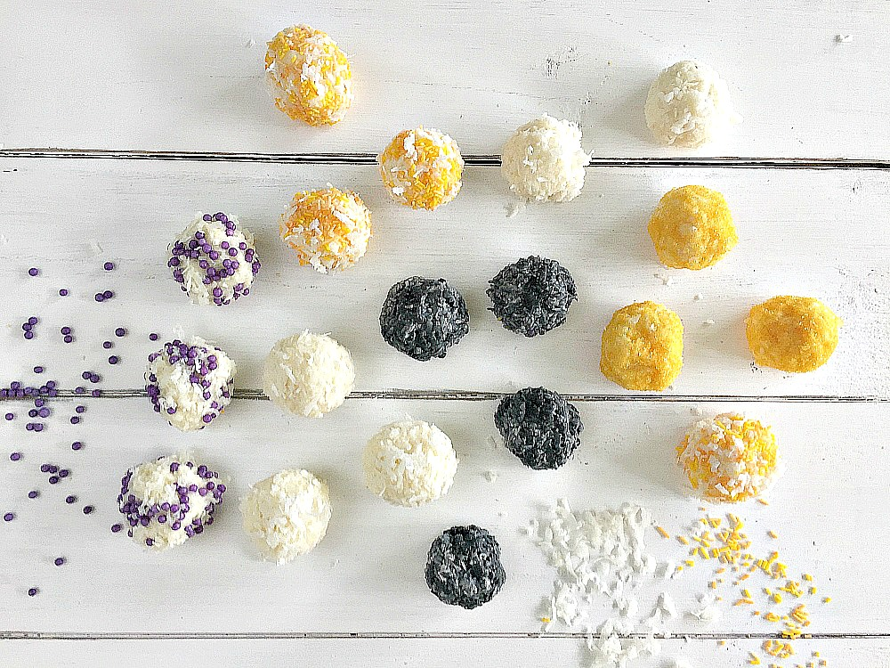 Halloween Snowball treats recipe
