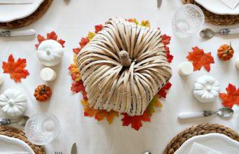 "Thanksgiving ""Autumn"" Tablescape"