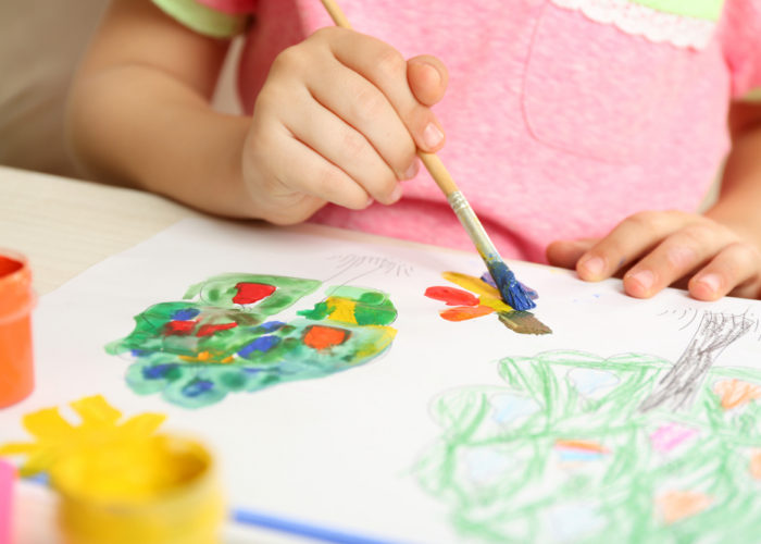 Early child development and the four stages of art that help