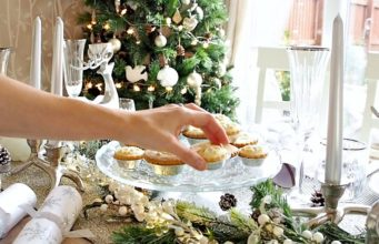 "Christmas ""Winter"" Tablescape"