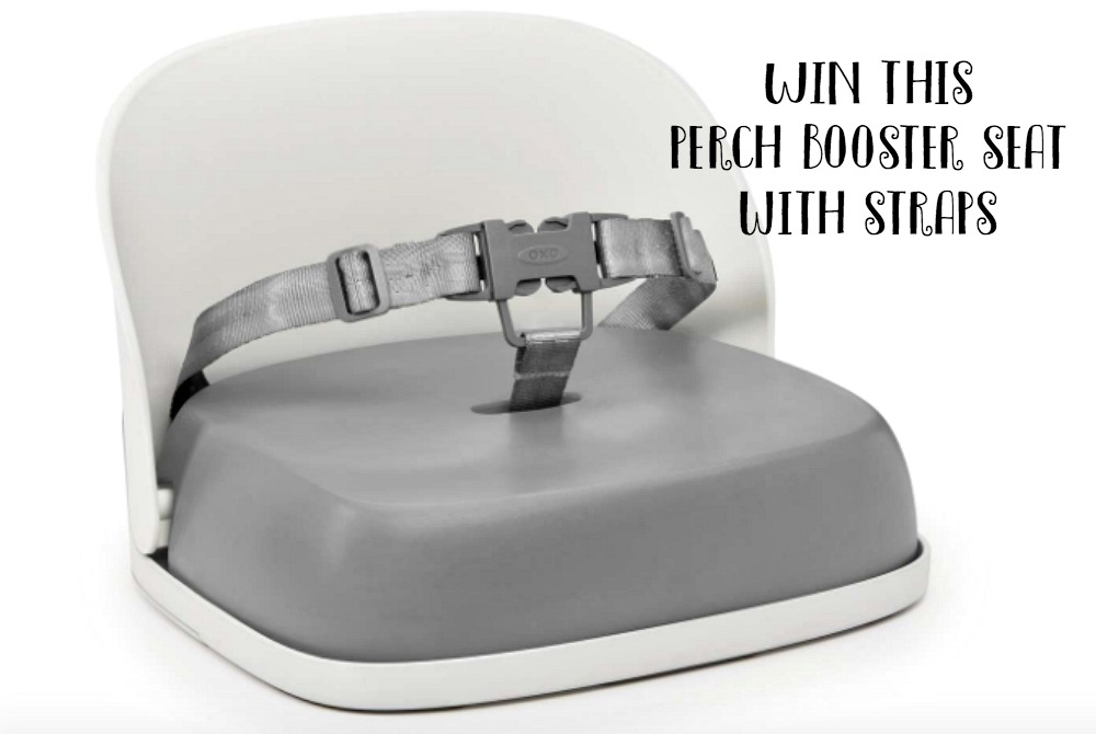 WIN Oxo Tot Grey Perch Booster seat with straps