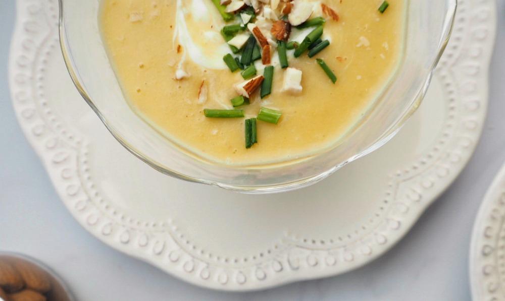 Sweet leek and Potato Soup recipe