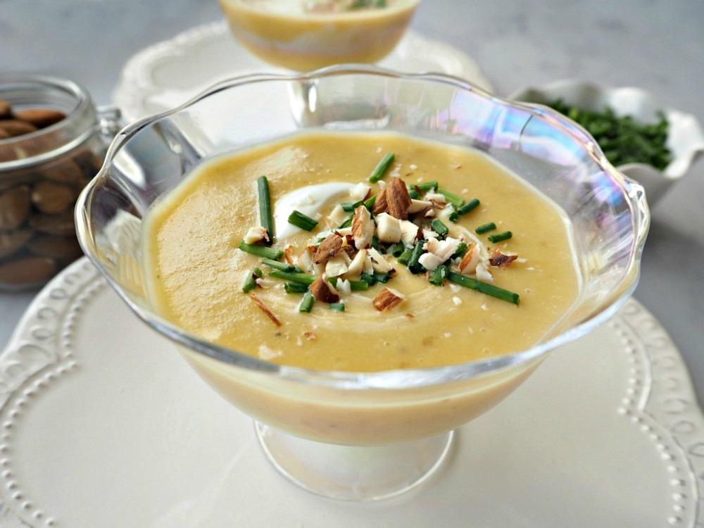 Leek & Sweet Potato Soup #littleloves
