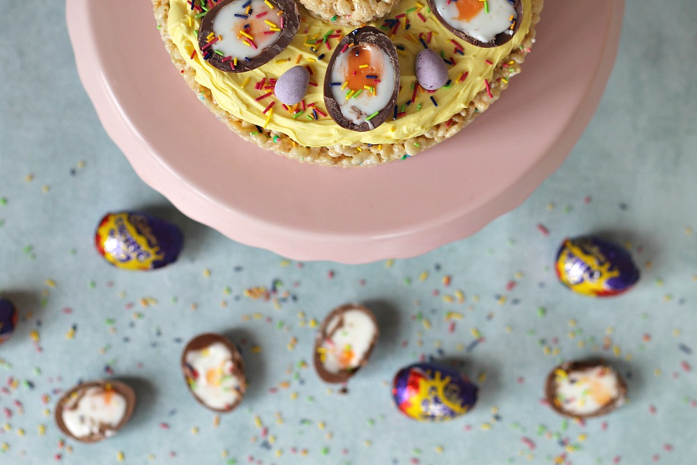 The Ultimate Easter Egg Cake recipe