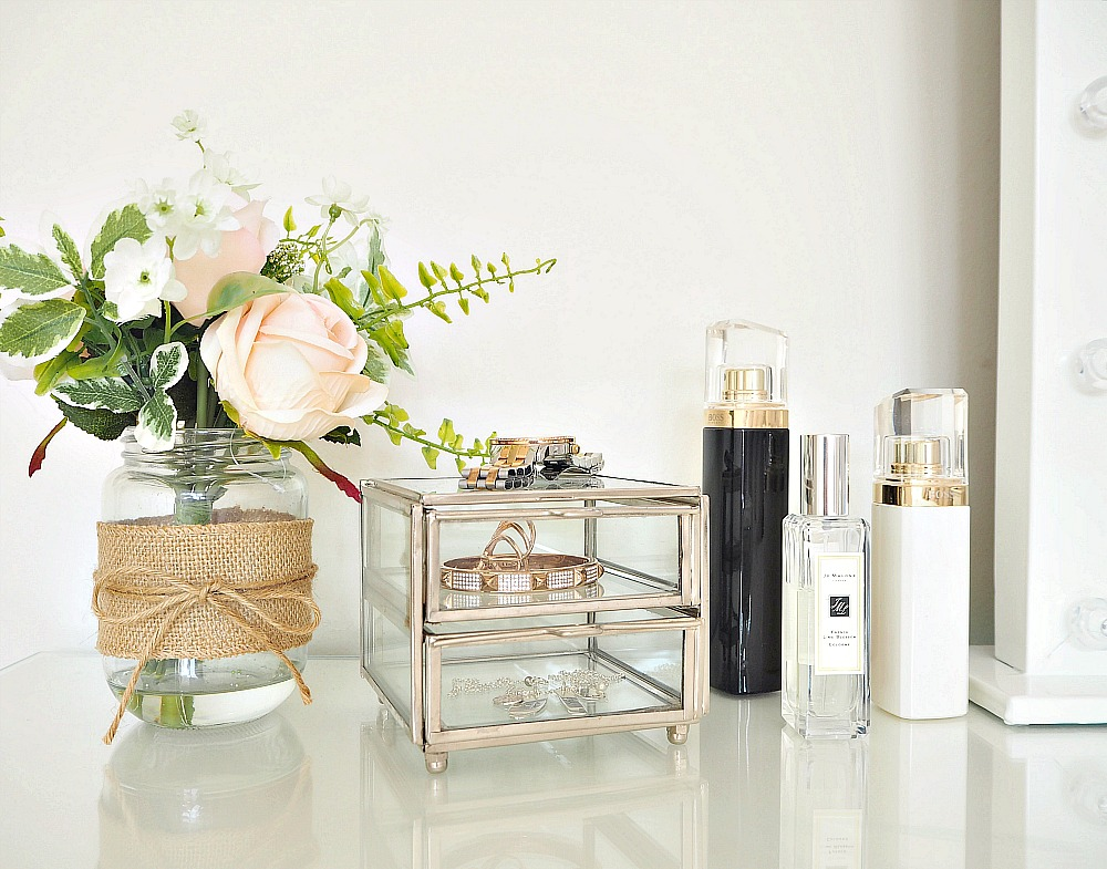A dressing table tour my makeup vanity