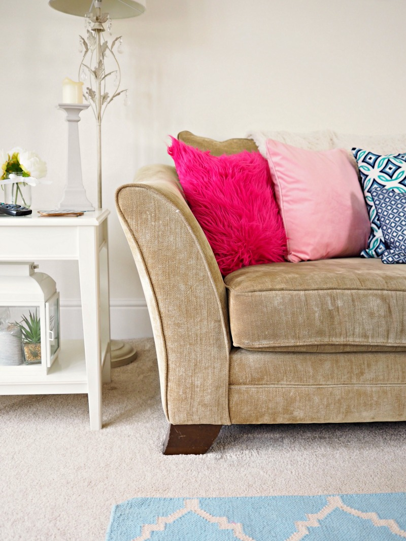 Think Pink with Dutch Decor Cushions Wayfair home inspiration