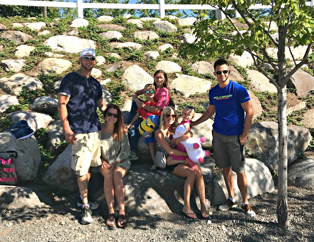 Silverwood Theme Park & Boulder Beach family day out America