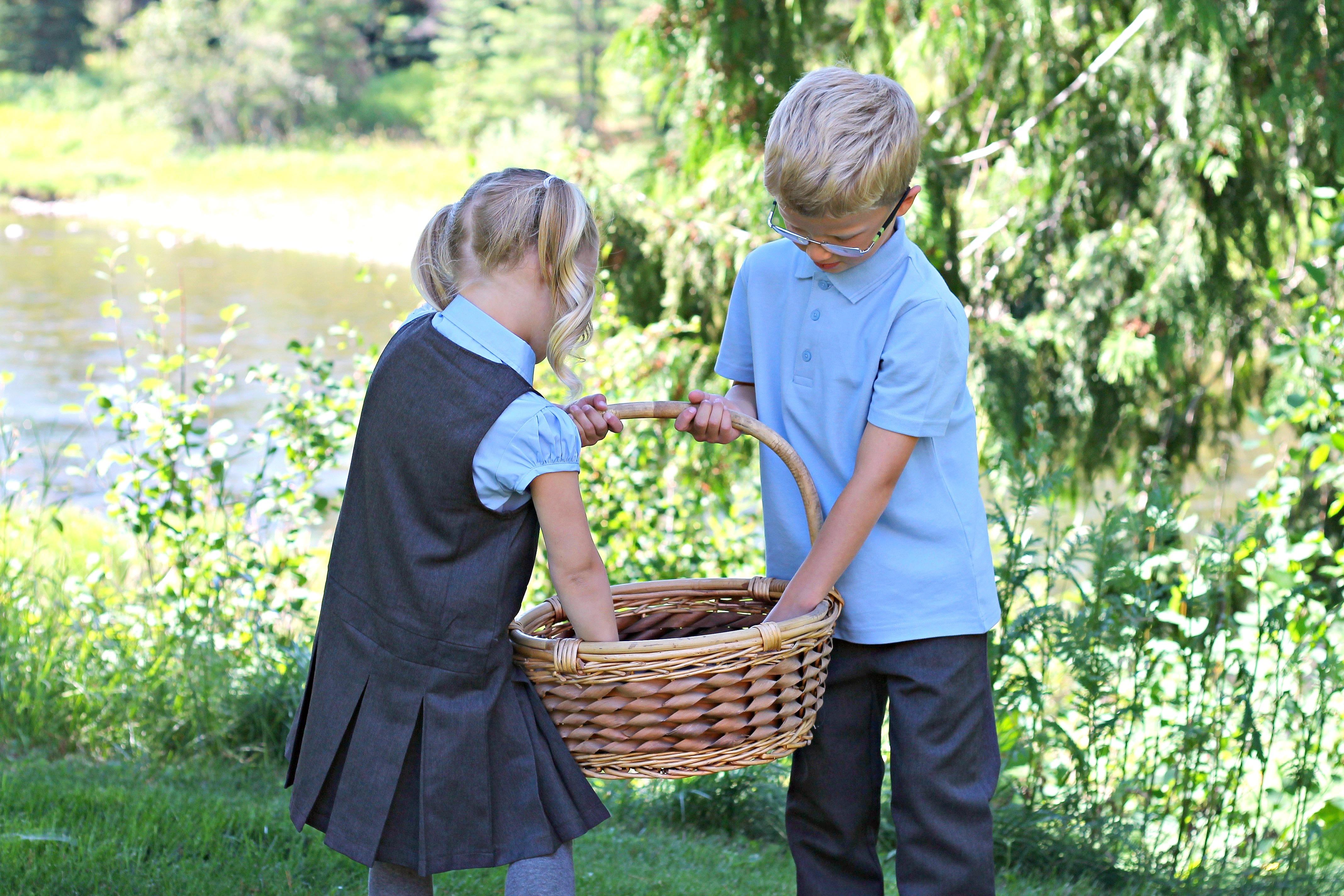 Next Schoolwear School Uniforms with my Little Volunteers