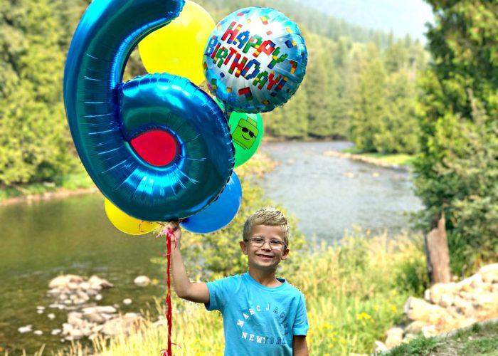 A Sixth LEGO Birthday party for my boy