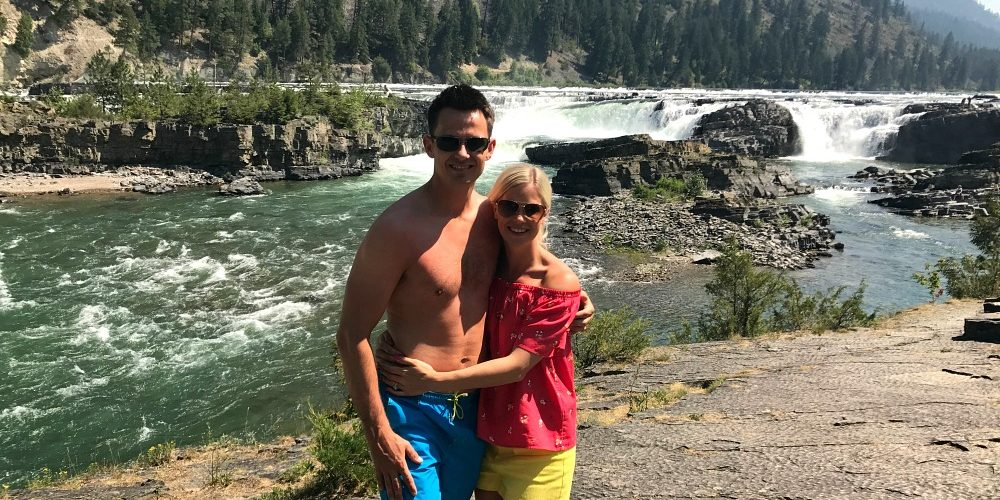 Kootenai Falls & Whitefish, Montana: Weekend Road Trip