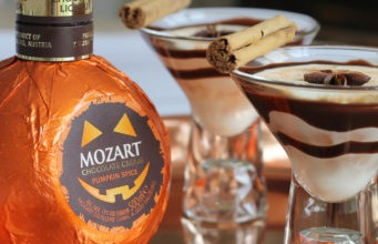 Halloween Cocktails: Chocolate Pumpkin Spice Martini