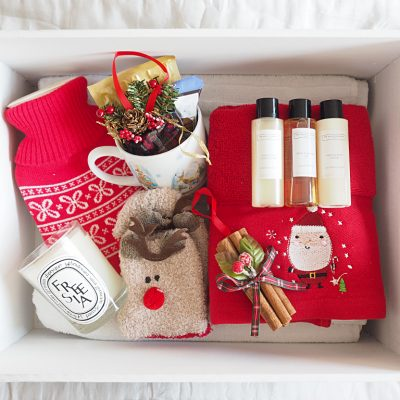 A Christmas Gift Box for Guests