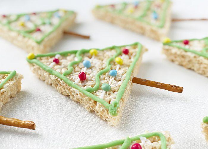 Rice Krispy Christmas Tree Treats