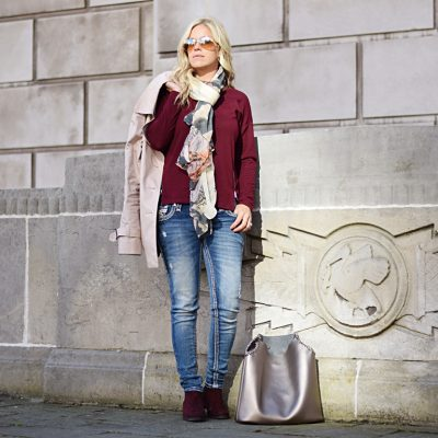 My Winter Style {Pairing Pink & Burgundy}