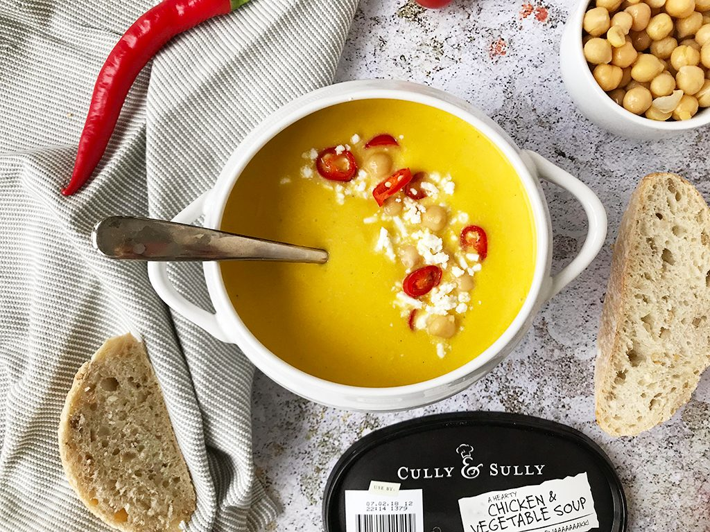 Vegetable Chicken Soup #TheWayWeMakeIt Cully and Sully Soups recipes